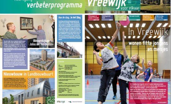 Vreewijk Krant van maart is uit