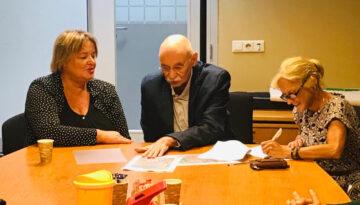 Ondertekening Sociaal Plan Vreewijk